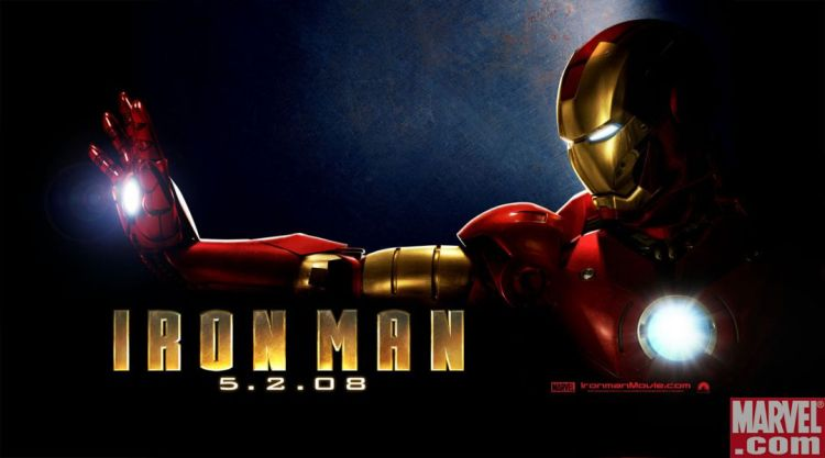 Image result for iron man 1 horizontal poster